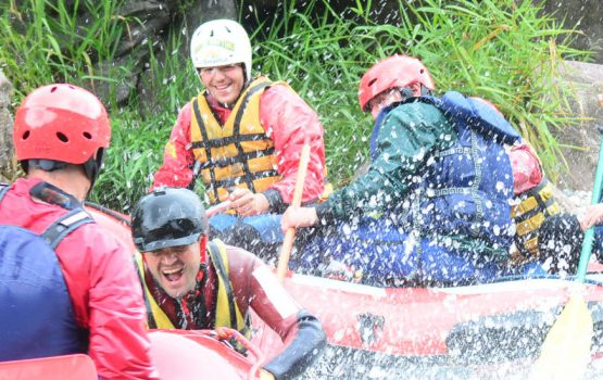 Rafting sul torrente Avisio