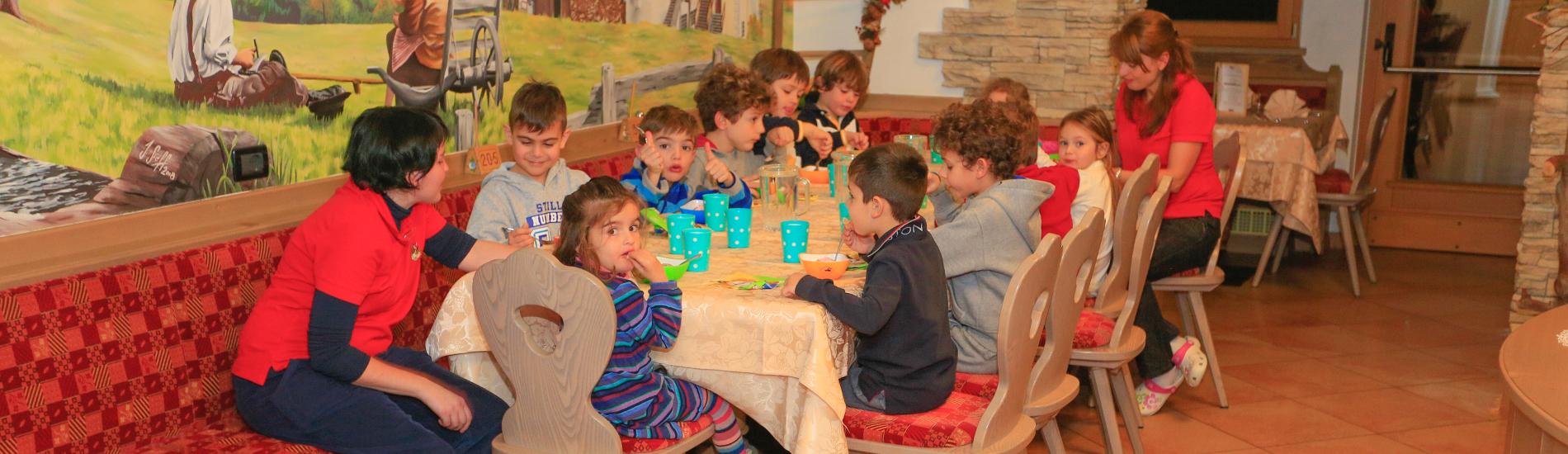 Hotel in Trentino con Menu per Bambini