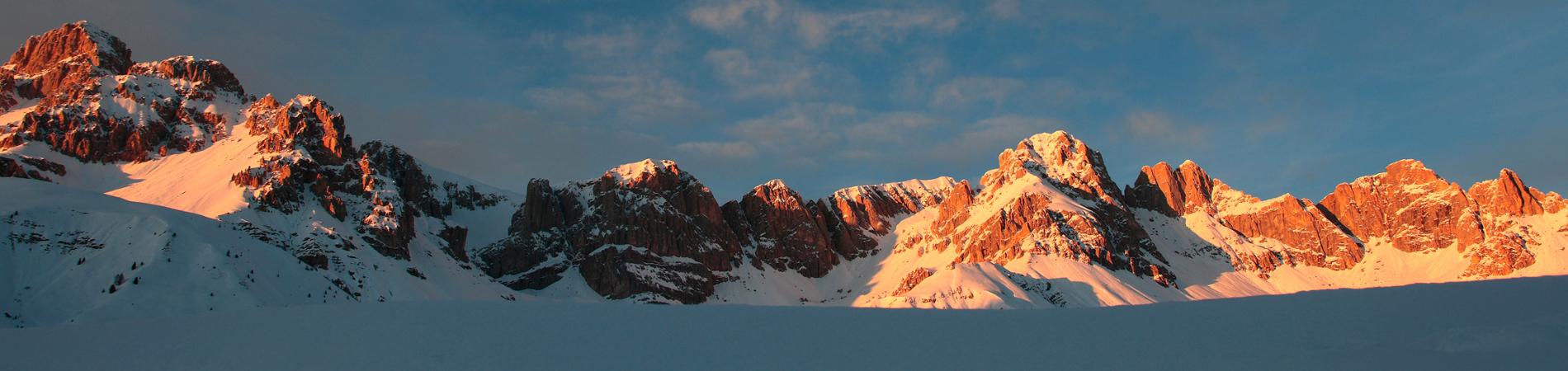 Settimana in montagna sulle Dolomiti