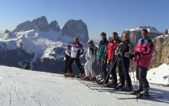 Sciate al Lagazuoi
