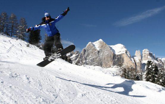 Snowboard allo Snopark