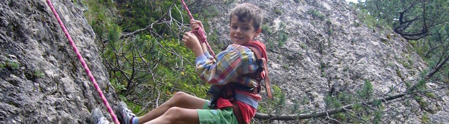 Arrampicata per Bambini in Trentino
