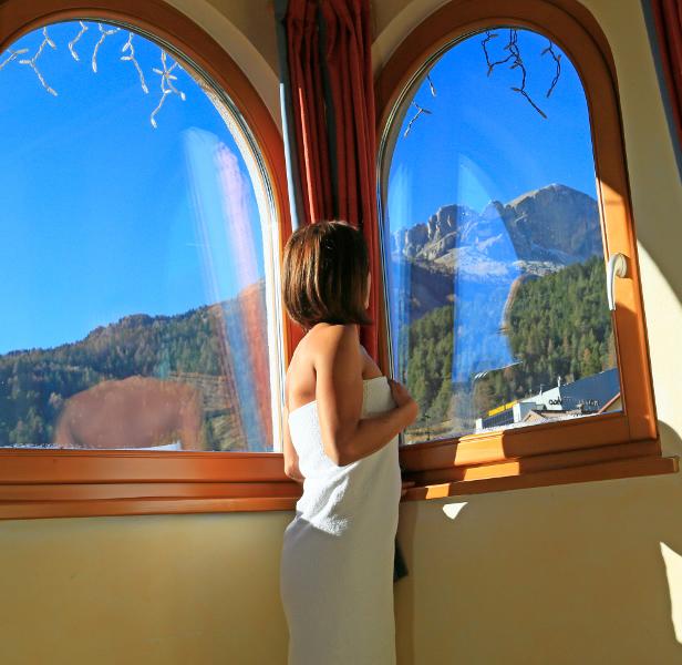 Hotel con spa e centro benessere val di fassa trentino - Piscina pozza di fassa ...