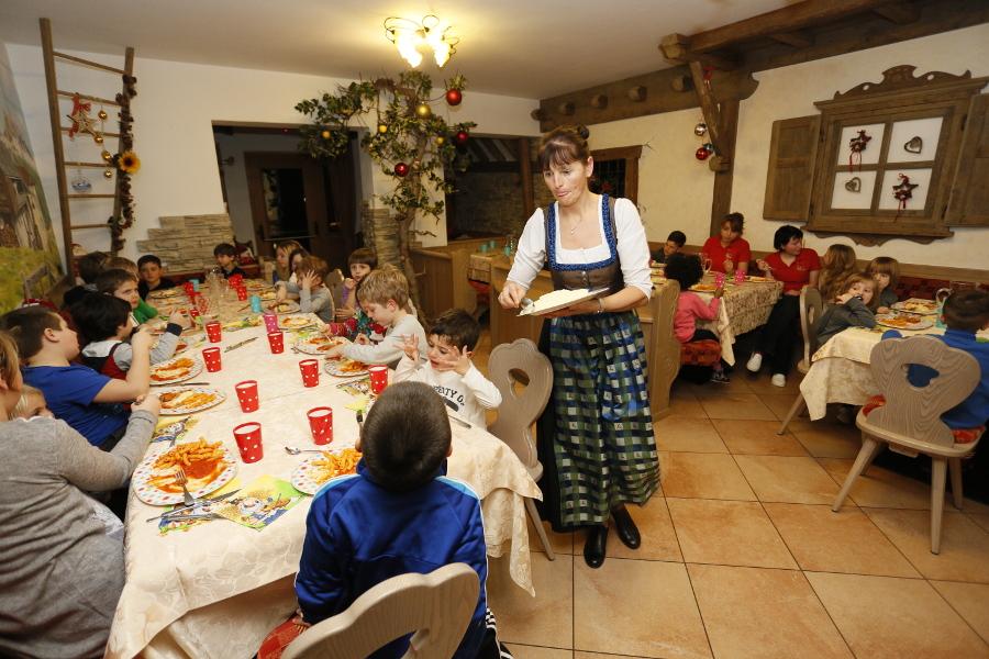 hotel con menu bambini Trentino