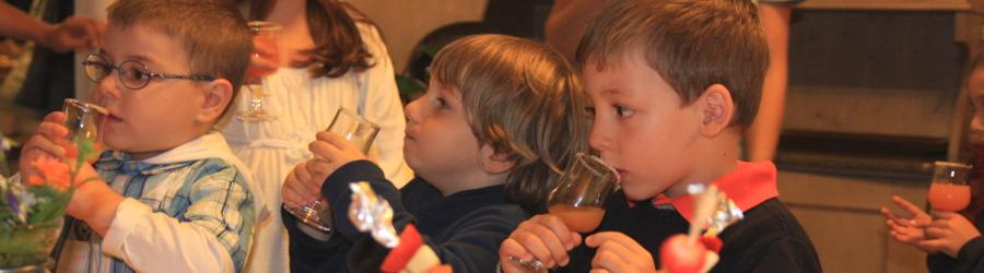 Menu per Bambini in Hotel