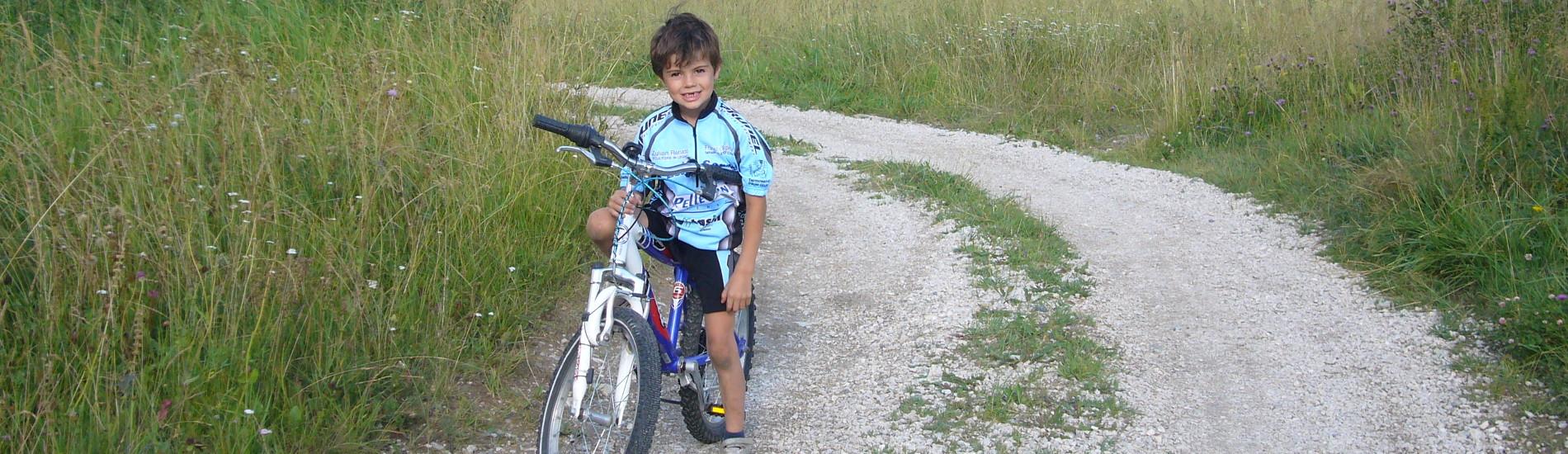 Percorsi in Mountain Bike per Bambini in Val di Fassa