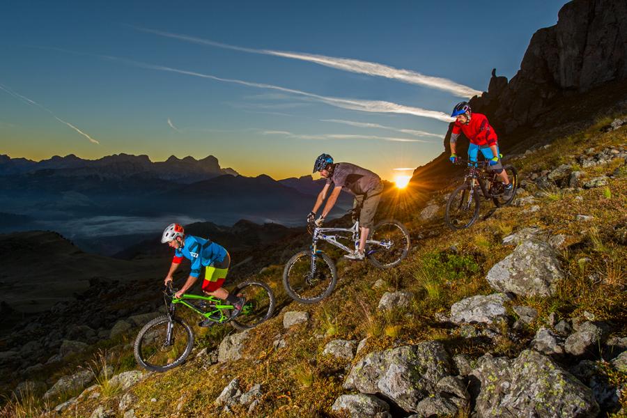 Downhill percorsi in Val di Fassa