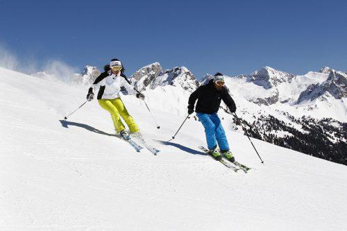 Sciare sulle Dolomiti in Vacanza