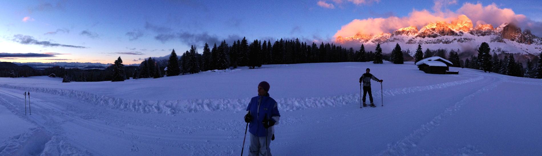 Ciaspolate sulle Dolomiti