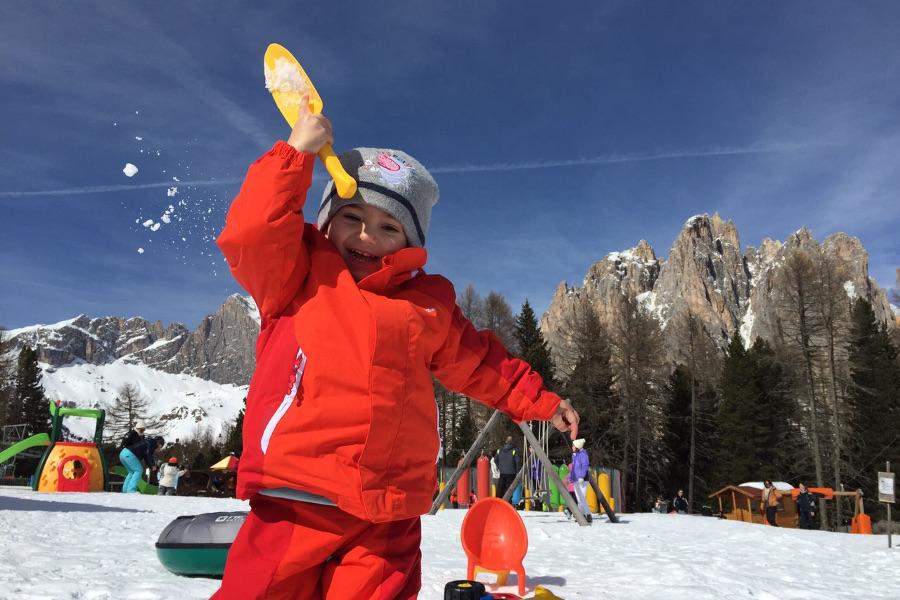 Giochi per Bambini sulla neve