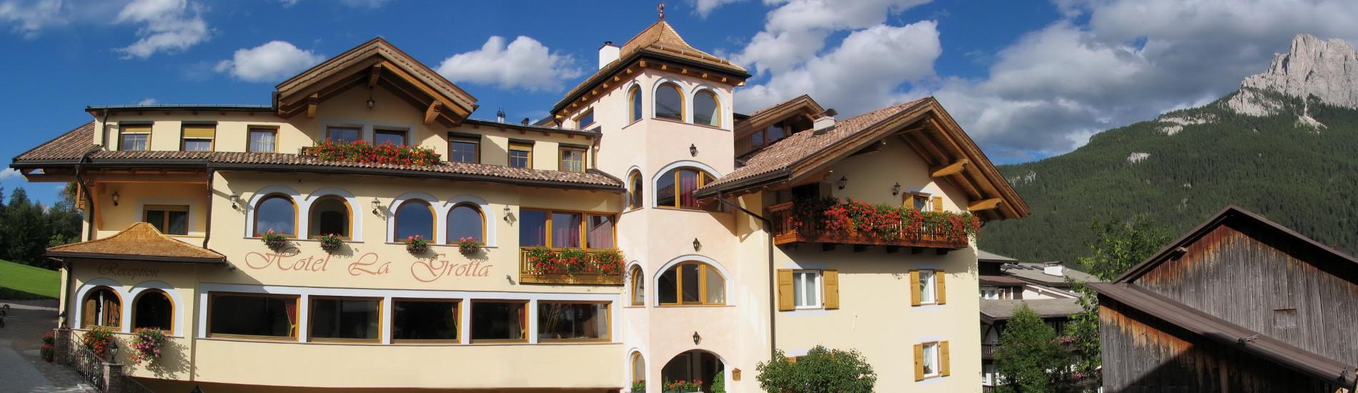 Hotel tra le Dolomiti in Val di Fassa