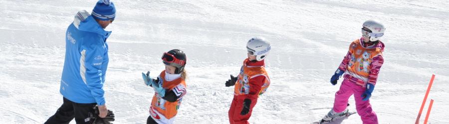 Corso di sci per bambini