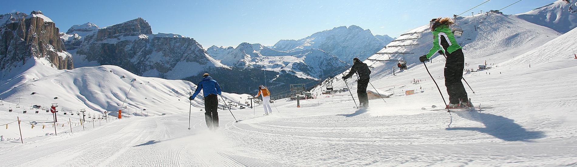 Sciate in Pista sulle Dolomiti Trentine