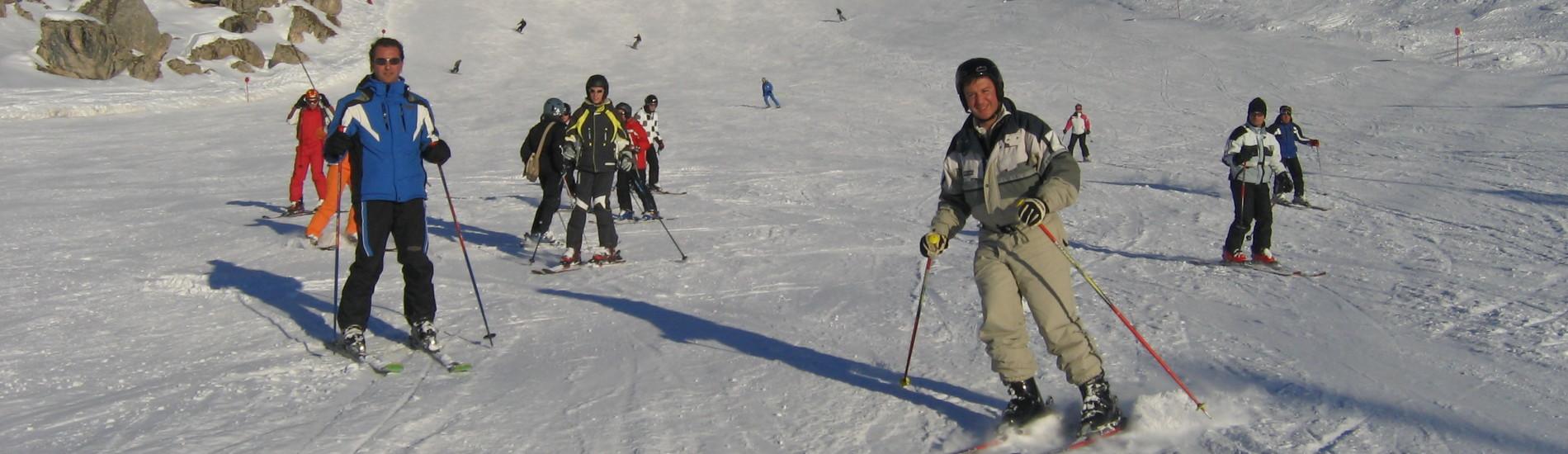 Skitour sulle Dolomiti