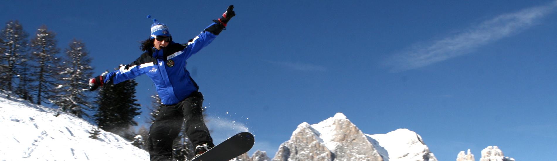 Snowpark in Val di Fassa