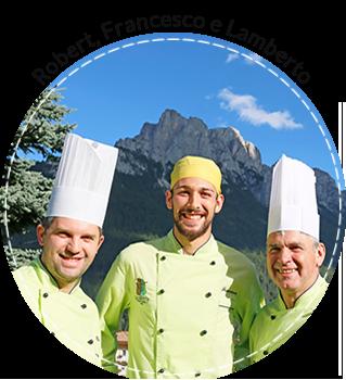 Robert, Francesco e Lamberto