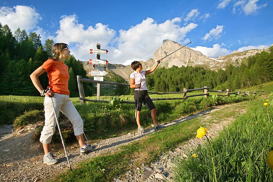 Genitori single in vacanza in montagna