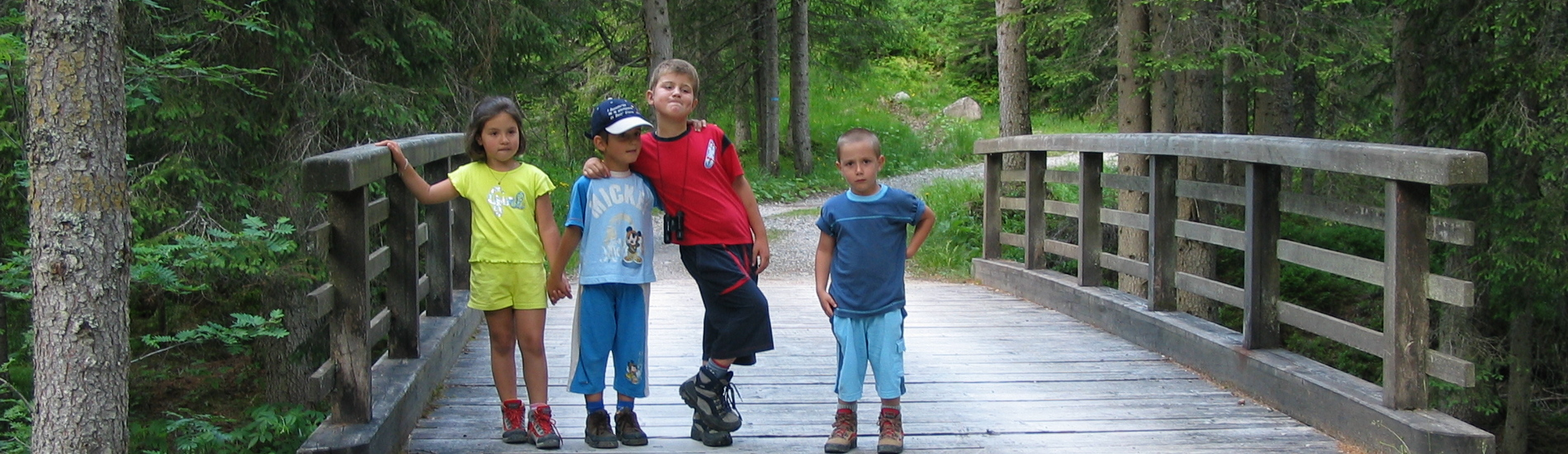 Offerta bimbi gratis in montagna