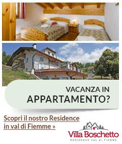 Residence Villa Boschetto in Val di Fiemme